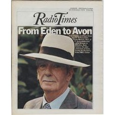 RT 2658 - 17 October 1974 (19-25 Oct) (North) FACING THE DICTATORS (BBC1) Lord Avon at 77 - was PM, Sir Anthony Eden