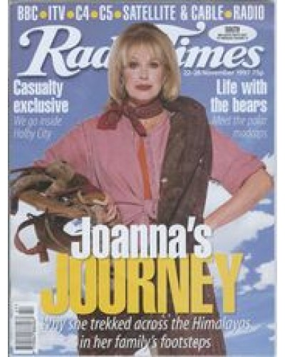 RT 3851 - 22-28 November 1997 (North West) THE KINGDOM OF THUNDER DRAGON (BBC1) with cover photo of Joanna Lumley