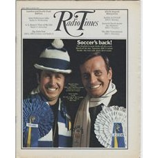 RT 2440 - 13 August 1970 (15-21 Aug) (South & West)  MATCH OF THE DAY (BBC1) with cover photo of David Letley (Chelsea) and Eric Carlile (Leeds)