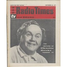 RT 1980 - October 19, 1961 (Oct 21-27) (South & West) THE CHARLIE DRAKE SHOW (TV) with Charlie Drake on the cover