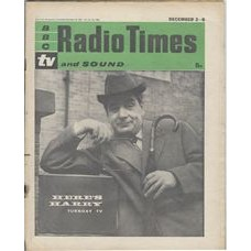 RT 1986 - November 30, 1961 (Dec 2-8) (South & West) HERE'S HARRY (TV) with Harry Worth on the cover.