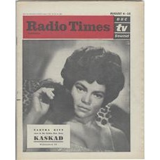 RT 2021 - August 2, 1962 August (4-10) (South and West) KASKAD The Golden Rose 1962 (TV) with cover photo of Eartha Kitt