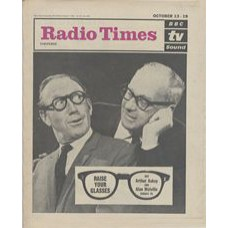 RT 2031 - October 11, 1962 (Oct 13-19) (South & West) RAISE YOUR GLASSES (TV) with cover photo of Arthur Askey and Alan Melville