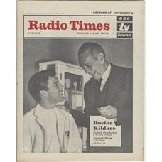 RT 2033 - October 25, 1962 (Oct 27-Nov 2) (South & West) DOCTOR KILDARE (TV) with cover photo of  Richard Chamberlain and Raymond Massey