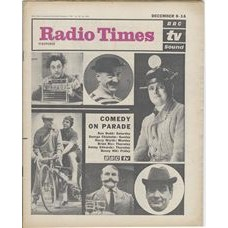 RT 2039 - December 6, 1962 (Dec 8-14) (South & West) COMEDY ON PARADE (TV) with cover photos of  Ken Dodd / George Chisholm / Harry Worth / Brian Rix / Jimmy Edwards / Benny Hill.