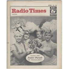RT 2057 - April 11, 1963 (Apr 13-19) (South & West) EASTER - Enjoy the Easter Parade of Programmes. Cover photo of girls in fancy hats.
