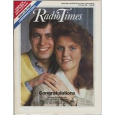 RT 3269 - 19-25 July 1986 (South West) THE ROYAL WEDDING with cover photo of Prince Andrew and Sarah Ferguson. / COMMONWEALTH GAMES
