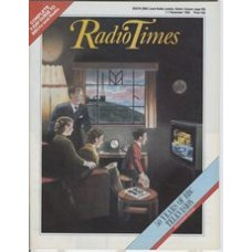 RT 3284 - 1-7 November 1986 (South West) BBC TV - 50th Anniversary Souvenir Issue - with cover illustration (by Tony McSweeney) of a family watching the 9 O'Clock News.