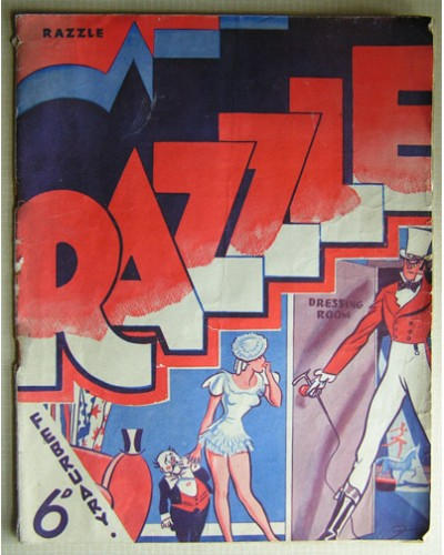 RAZZLE [39/02] February 1939 - Filled with cartoons and jokes.