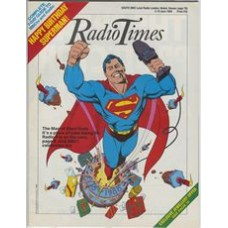 RT 3366 - 4-10 June 1988 (South) SUPERMAN 1938-1988 – 50th Anniversary - with cover artwork (by Dave Gibbons) of Superman.
