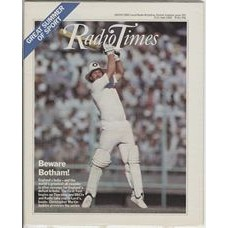 RT 3056 - 5-11 June 1982 (West) CRICKET: FIRST TEST - England v India - Ian Botham.