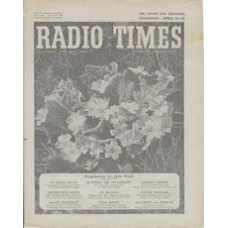 RT 1587 - April 9, 1954 (Apr 11-17) (London) HOLY WEEK With cover photo of primroses.