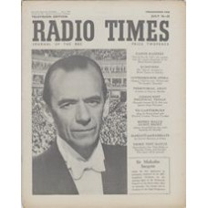 RT 1396 - July 14, 1950 (Jul 16-22) (Scottish) PROMENADE CONCERTS - with cover photo of Sir Malcolm Sargent.