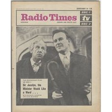 RT 2148 - Jan 7, 1965 (Jan 9-15) (London & South-East) [Incomplete] THE WEDNESDAY PLAY Sir Jocelyn, the Minister Would Like a Word - Michael Hordern and Alec McCowen