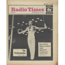 RT 2179 - August 12, 1965 (Aug 14-20) (South & West) THE PERFECTIONISTS - with cover photo of a Russian gymnast performing the crucifix.