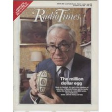 RT 3215 - 29 June-5 July 1985 (East) GREAT COLLECTORS (BBC2) with cover photo of Malcolm Forbes.