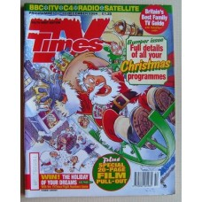 TVT 1994/Xmas - 17-30 December 1994 (South West) CHRISTMAS 1994 DOUBLE ISSUE with cartoon cover illustration (by Graham Thompson) of Santa taking off in his sleigh, without due care and attention!