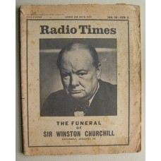 RT 2151 - January 28, 1965 (Jan 30-Feb 5) (London & South-East - Churchill updated edition) The Funeral of Sir Winston Churchill - with cover photo of Churchill