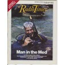 RT 3302 - 7-13 March 1987 (West) THE FIRST EDEN (BBC2) with cover photo of David Attenborough.