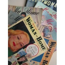 Women's Mags  (1952-53 - 8 issues) MY HOME / WOMAN and HOME / EVERYWOMAN
