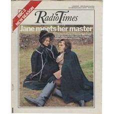 RT 2602 - 20 September 1973 (22-28 Sep) (East Anglia) RADIO TIMES 50th Anniversary / JANE EYRE (BBC2) with cover photo of Michael Jayston and Sorcha Cusack.