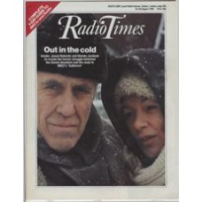 RT 3223 - 24-30 August 1985 (West) SAKHAROV (BBC2) with cover photo - Jason Robards and Glenda Jackson re-create the heroic struggle between the Soviet dissident and the state.