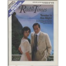 RT 3227 - 21-27 September 1985 (West) TENDER IS THE NIGHT (BBC2) Mary Steenburgen and Peter Strauss start as Scott Fitzgerald's fated lovers.