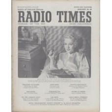 RT 1471 - January 18, 1952 (Jan 20-26) (Television Edition) THE WOMAN IN QUESTION with cover photo of Jean Kent.
