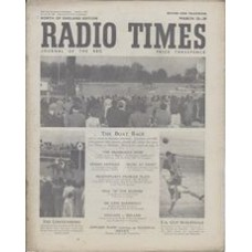 RT 1480 - March 21, 1952 (Mar 23-29) (Television Edition) THE BOAT RACE / RACING / ASSOCIATION FOOTBALL With photos of Putney to Mortlake; The Lincolnshire; the FA Cup Semi-Finals