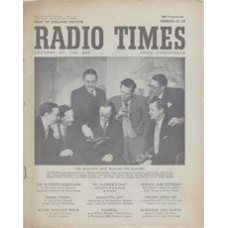 RT 1426 - March 9, 1951 (Mar 11-17) (Wales) THE QUESTION-MASTERS' CLUB with cover photo of Lionel Hale, Wynford Vaughan Thomas, John Snagge, Michael Barsley, Lionel Gamlin, Gilbert Harding & Robert MacDermot