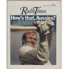RT 2695 - 3 July 1975 (5-11 Jul) (South) THE FIRST TEST England v Australia - with cover photo of  Tony Greig.