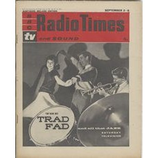 RT 1973 - Aug-31, 1961 (Sep 2-8) (London) Jazz THE TRAD FAD  (TV) with cover photo of dancers and trumpet player.