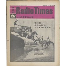 RT 2003 - March 29, 1962 (Mar 31-Apr 6) (London) SPORTS SPECIAL: THE GRAND NATIONAL with photo of horses jumping.