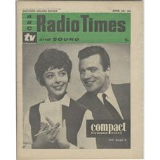 RT 2014 - June 14, 1962 (Jun 16-22) (London) COMPACT – Number Fifty – with cover photo of Monica Evans and Ronald Allen