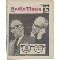 RT 2031 - October 11, 1962 (Oct 13-19) (London) RAISE YOUR GLASSES (TV) with cover photo of Arthur Askey and Alan Melville