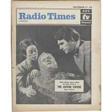 RT 2036 - November 15, 1962 (Nov 17-23) (London) THE ASPERN PAPERS (TV) with cover photo of Siobhan McKenna, Beatrix Lehmann and Edmund Purdom.