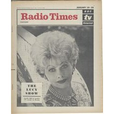 RT 2045 - January 17, 1963 (Jan 19-25) (London) THE LUCY SHOW with cover photo of Lucille Ball