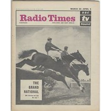 RT 2055 - March 28, 1963 (Mar 30-Apr 5) (London) THE GRAND NATIONAL With cover photo of horses jumping.