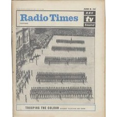 RT 2065 - June 6, 1963 (Jun 8-14) (London) TROOPING THE COLOUR with cover photo of Grenadiers.