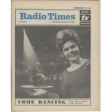 RT 2048 - February 7, 1963 (Feb 9-15) (London) COME DANCING (TV) Finals Night - with cover photo of Judith Chalmers