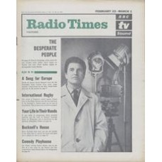 RT 2050 - February 21, 1963 (Feb 23-Mar 1) (London) THE DESPERATE PEOPLE with cover photo of Denis Quilley.