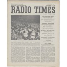 RT 1264 - January 2, 1948 (Jan 4-10) (Midland) PROMENADE CONCERTS Winter Series - with The Royal Albert Hall on the cover.