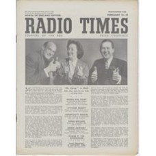 RT 1322 - February 11, 1949 (Feb 13-19) (North of England) HI, GANG! is back - with cover photo of Bebe, Ben and Vic.