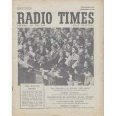 RT 1369 - January 6, 1950 (January 8-14) (Wales) THE WINTER PROMS with cover photo of audience.