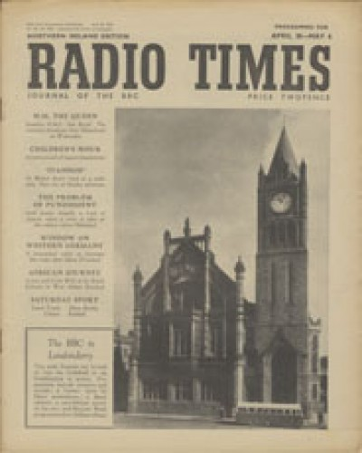 RT 1385 - April 28, 1950 (Apr 30-May 6) (Northern Ireland with regional cover) The BBC in Londonderry