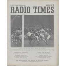 RT 1400 - August 11, 1950 (Aug 13-19) (London) ASSOCIATION FOOTBALL with photo of a match.