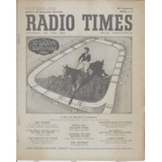 RT 1429 - March 30, 1951 (Apr 1-7) (Television Edition) THE GRAND NATIONAL - J. Power riding Freebooter, the 1951 winner, + course plan