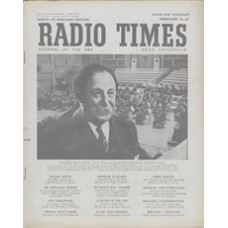 RT 1526 - February 6, 1953 (Feb 8-14) (Northern Ireland) BBC SYMPHONY CONCERTS with cover photo of Pierre Monteux.