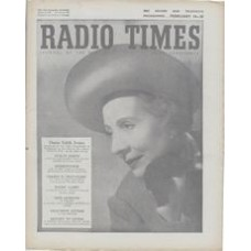 RT 1579 - February 12, 1954 (Feb 14-20) (Wales) ROBERT'S WIFE (Light) with cover photo of Dame Edith Evans.