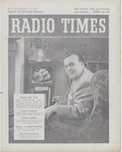 RT 1641 - April 22, 1955 (Apr 24-30) (West of England) MUSIC FOR YOU with cover photo of Eric Robinson in an arm chair in front of a television.